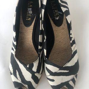 Lauren Ralph Lauren Women's Wedge Sandals Sz 8.5